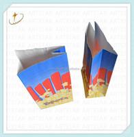 Popular french fries kraft paper bag with custom logo
