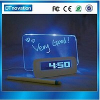 Favorable price table clock with led desk