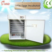 1056 eggs CE approved automatic large capacity egg incubators sale YZITE-10