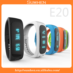 E02 Bluetooth Smart Wrist Watch Bracelet Wristwatch Watches for Phone Android IOS