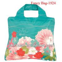 Fashion heap nylon foldable shopping bags