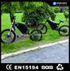 Irregular big power racing electric bike with a generator
