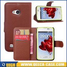 Wholesale price wallet pu leather flip cover case for lg l50