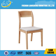 Import Ash Solid Wood Dining Chair, Restaurant chair, cafe chair DC008-A3