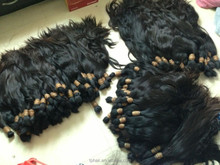 RUSSIAN &EURASIAN Raw Human Hair Bulk WEFT or PONY Type Available