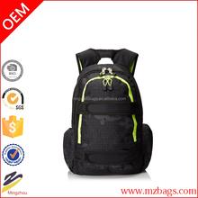 Fashional high quality waterproof laptop backpack skate bag