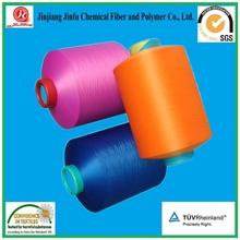 JinJiang Jinfu HSL DTY Knitting Dope Dyed Polyester Yarn