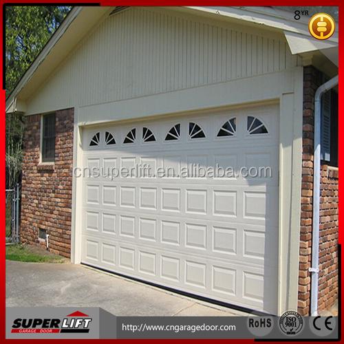 Automatique de porte de garage sectionnelle portes for Garage en panneau sandwich