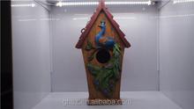 modern home decor resin bird house craft gifts