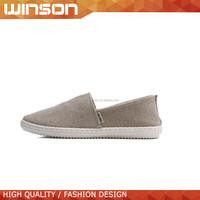 simple design cheap canvas casual shoes for men 2015