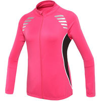 OUTTO #12-0020 ladies cycling jersey long sleeve fleece M-2XL