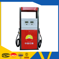 Double gun flow meter retail CNG fuel dispenser used cng kit