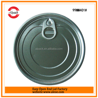 Small round tin lid for canned powder milk
