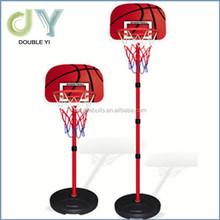 Custom Courtside Height Adjustable Portable Basketball System, 48 Inch mini basketball Shatterproof Backboard