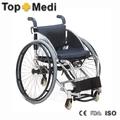 Topmedi fs756lq-36 fácil invacare ortopédicos de aluminio ligero de buena calidad precio bajo los deportes sillas de ruedas