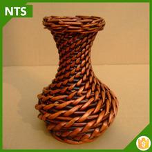 Flower Vase Wicker Basket Home Decoration Wholesale