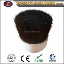 76mm size black color soft bristle car wash brush factory