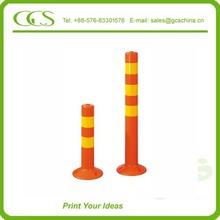 plastic rising bollards reflective flexible collapsable bollards warning post