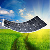 semi-flexible / bendable solar panel / PV module,monocrystalline silicon soalr panel with high efficiency
