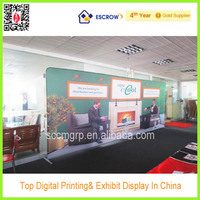 large size spring pop up display stands