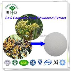 25% 45% Fatty acid Natural Saw Palmetto Fruit Extract Serenoa serrulata powder