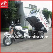 150cc air-cooled cargo 3-wheeler tuk tuk/ three wheel motorcycle/cargo tricycle made in guangzhou china