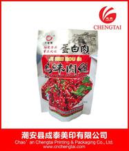 Plastic pouch bag for frozen food