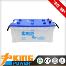 JIS N200 12V200AH Dry charged car starting batteries made in china with best prices