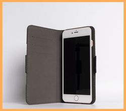 Leather universal flip mobile phones bags&cases with credit card holder for iphone6 plus