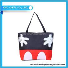 Oem production canvas tote bag/Customized promotional wholesale cotton canvas bag