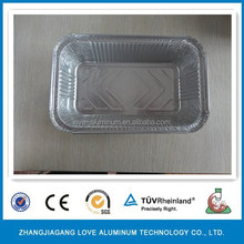 Household Recyclable Hot Sale Aluminum Foil Packing For Food And Dessert