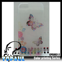 ultra thin case cover,transparent light up case,Light Up Cell Phone Case For Samsung I8160