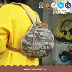 Cute and Individuality helmet cap design backpack beach chairs