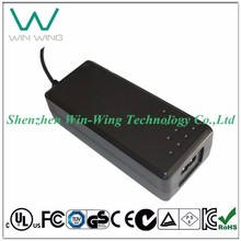 Single Output AC Adaptor 20V 3.25A 65W for LED LCD CCTV Devices