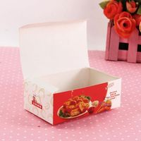 Chicken cardboard cheap fast food packaging