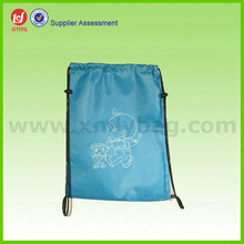 Promotional Polyester Drawstring Shoes Bag,600d Polyester Canvas Tote Bag