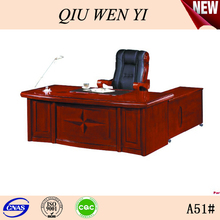 Red cherry office table and desk,Color bright Office desk Manufacture