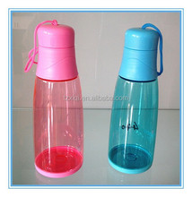 Plastic water bottles Hand grenades shape
