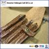 Fashion unique design handmade leather student pencil case
