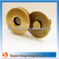 Textile buttons Magnetic snap fasteners