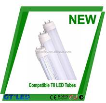 Energy-saving frost cover18W 4ft Rotating End Cap T8 Led Tube, led tube compatible