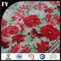 Custom high quality digital printing 100% cotton poplin fabric