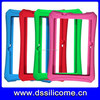 Professional factory silicone rubber products protector case frame for digital products laptop case frame