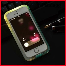 wholesale china new arrive phone case with led flashing data cable