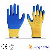 Latex Coated Heat Resistant Kevlar Gloves