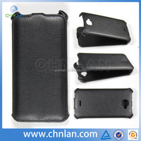 Custom made mobile phone pu wallet leather case for FLY IQ 454