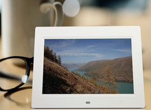 "8"" Slim Digital Photo Frame, 800x600 Resolution, Support HD 1080P Video Playback"
