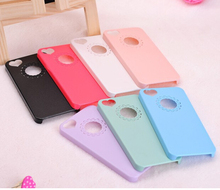 New for Couple Lover Cute Fashion Design Lovely Flower Love Heart Hard Case Cover for iPhone 5 5s