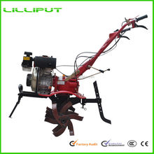 Hot Sale Powerful Gear Driven Hand Operated Powered Cultivator For Rice Farming