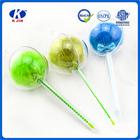 Plástico publicidade ball pen com a lâmpada / caneta esferográfica nomes